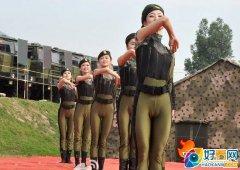 朝鲜女兵尴尬紧身裤着装 朝鲜女兵恶劣紧身裤